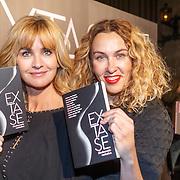 NLD/Amsterdam/20151102 - Boekpresentatie Extase, Daphne Deckers en Claudia Straatmans