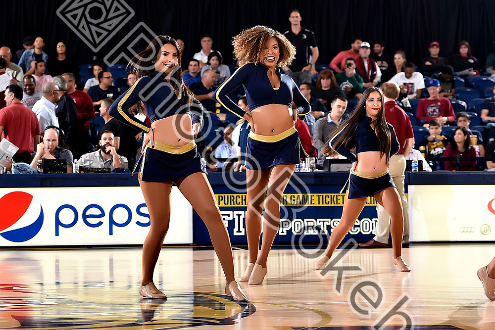 2017 November 27 - FIU Golden Dazzlers performing at Ocean Bank Convocation Center, Miami, Florida. (Photo by: Alex J. Hernandez / photobokeh.com) This image is copyright by PhotoBokeh.com and may not be reproduced or retransmitted without express written consent of PhotoBokeh.com. ©2017 PhotoBokeh.com - All Rights Reserved
