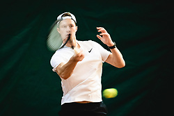 Tino Kovacic during national tennis cup tournament, Telemach - Drzavni pokal, on January 16, 2021 in Teniski klub Branik, Maribor, Slovenia. Photo by Blaž Weindorfer / Sportida