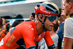 Vincenzo Nibali (ITA) of Bahrain Merida (BAH,WT,Merida) after stage 1 from Bruxelles to Brussel of the 106th Tour de France, 6 July 2019. Photo by Pim Nijland / PelotonPhotos.com   All photos usage must carry mandatory copyright credit (Peloton Photos   Pim Nijland)