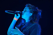 Singer-songwriter Clairo performs July 31, 2019, at Madison Square Garden in New York City. (Photo by Matt Smith)