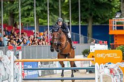 LÜNEBURG Nisse (GER), ALINA 44<br /> Münster - Turnier der Sieger 2019<br /> BRINKHOFF'S NO. 1 -  Preis<br /> CSI4* - Int. Jumping competition  (1.50 m) -<br /> 1. Qualifikation Grosse Tour <br /> Large Tour<br /> 02. August 2019<br /> © www.sportfotos-lafrentz.de/Stefan Lafrentz