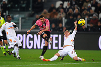 "Il gol di Alessandro Del Piero Juventus 2-0<br /> Goal <br /> Torino 24/01/2012 Stadio ""Juventus Stadium""<br /> Football Calcio 2011/2012 Coppa Italia<br /> Juventus Vs Roma<br /> Foto Insidefoto Andrea Staccioli"