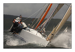 Day 2 of the Bell Lawrie Scottish Series with wild conditions on Loch Fyne for all fleets. Exhilarating and testing racing for Boats and crew...Class 2 IRL9638 Antix.