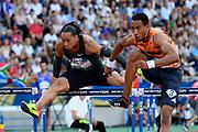 Pascal Martinot-Lagarde (FRA) competes in 110m Hurdles Men during the Meeting de Paris 2018, Diamond League, at Charlety Stadium, in Paris, France, on June 30, 2018 - Photo Julien Crosnier / KMSP / ProSportsImages / DPPI