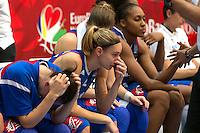 Deception France - 28.06.2015 - France / Serbie - Finale Championnat d'Europe feminin de Basket ball -Budapest<br /> Photo : Attila Volgyi / Icon Sport