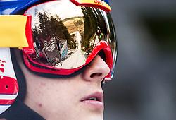 10.01.2014, Kulm, Bad Mitterndorf, AUT, FIS Ski Flug Weltcup, Probedurchgang, im Bild Maciej Kot (POL) // Maciej Kot (POL) during the Trial jump of FIS Ski Flying World Cup at the Kulm, Bad Mitterndorf, <br /> Austria on 2014/01/10, EXPA Pictures © 2014, PhotoCredit: EXPA/ JFK