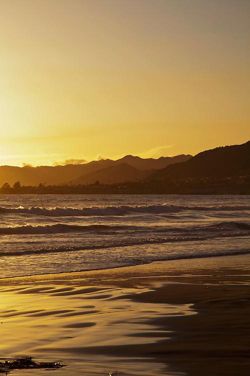 Pismo Beach at Sunset