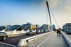 Samuel Beckett Bridge, Dublin<br /> <br /> (c) Andrew Wilson | Edinburgh Elite media