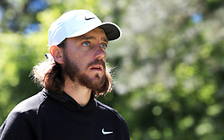 England's Tommy Fleetwood on the 6th during day three of the Betfred British Masters at Hillside Golf Club, Southport.
