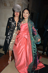 Left to right, ISABELLA BLOW and DOWAGER, VISCOUNTESS ROTHERMERE at Andy & Patti Wong's annual Chinese New Year party, this year celebrating the year of the dog held at The Royal Courts of Justice, The Strand, London WC2 on 28th January 2006.<br /><br />NON EXCLUSIVE - WORLD RIGHTS