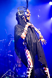 Grace Jones performs at the Montreux Jazz Festival, Switzerland on July 08, 2017. Photo by Loona/ABACAPRESS.COM
