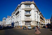 Maroc, Casablanca, rue Abderrahman Sahraoui // Morocco, Casablanca, Abderrahman Sahraoui street