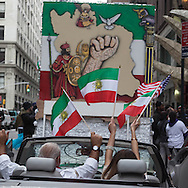 New York. Persian parade, on madison avenue.