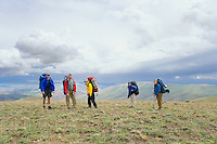 Five backpackers Umpatanum Ridge WA&#xA;<br />
