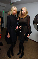 Left to right, sisters the HON.SOPHIA HESKETH and the HON.FLORA HESKETH at a party to celebrate the publication of Tatler's Little Black Book 2006 held at 24, 24 Kingley Street, London W1 on 9th November 2006.<br /><br />NON EXCLUSIVE - WORLD RIGHTS