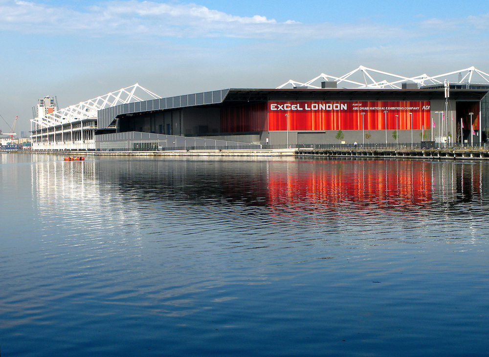 Excel, London, Royal Albert Dock