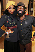 New York, NY-November 3: (L-R) Media Personality Tai Beauchamp and Andre Singleton, C0-Founder, Very Black attend the Native Son Community Give Back Reception benefiting the Stonewall Community Foundation and other LGBTQ organizations hosted by Emil Welbekin held at Byredo on November 3, 2017 in New York City.  (Photo by Terrence Jennings/terrencejennings.com)