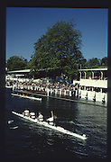 Henley on Thames. United Kingdom. Winners Britannia Challenge Cup<br /> University College, Galway, Irelandcelebrate victory over Cappoquin Rowing Club, Ireland, 1990 Henley Royal Regatta, Henley Reach, River Thames. 06/07.1990<br /> <br /> [Mandatory Credit; Peter SPURRIER/Intersport Images] 1990 Henley Royal Regatta. Henley. UK