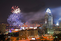 Riverfest WEBN Fireworks in Cincinnati