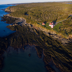 West Quoddy Head Lighthouse in Lubec, Maine.