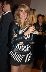 TALLULAH RUFUS-ISAACS at a party to celebrate 100 years of Chinese Cinema hosted by Shangri-la Hotels and Tartan Films at Asprey, New Bond Street, London on 25th April 2006.<br /><br />NON EXCLUSIVE - WORLD RIGHTS