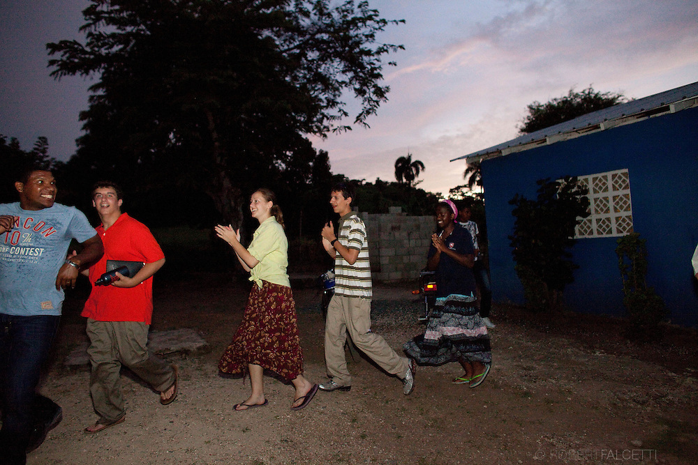 Hota Mayor, Dominican Republic- June 2011:  Day 4. Master's School DR trip. (Photo by Robert Falcetti). .