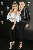 Tallia Storm & Tessie Hartmann, 'A Need A Night Out' Concert to Celebrate the Launch of Dial by Will.I.Am, Royal Albert Hall, London UK, 11 May 2016, Photo by Brett D. Cove