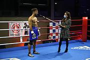 Boxen: Giants Professional Boxing Serie, Hamburg, 07.11.2020<br /> Supermittelgewicht: Alex Born (GER) - Martin Friesse (GER)<br /> © Torsten Helmke