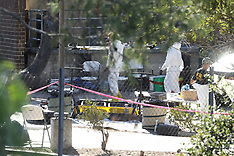FBI seen at the Borderline Bar & Grill where shooting occured - 12 Nov 2018