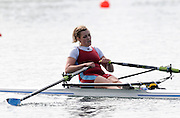 Eton, United Kingdom.  Josephine WRATTEN, competing in the Women's Single Scull  Sat. time trial.  2011 GBRowing Trials, Dorney Lake. Saturday  16/04/2011  [Mandatory Credit; Peter Spurrier/Intersport-images] Venue For 2012 Olympic Regatta and Flat Water Canoe events.