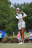 Nelly Korda (USA) watches her tee shot on 2 during round 2 of the 2019 US Women's Open, Charleston Country Club, Charleston, South Carolina,  USA. 5/31/2019.<br /> Picture: Golffile | Ken Murray<br /> <br /> All photo usage must carry mandatory copyright credit (© Golffile | Ken Murray)