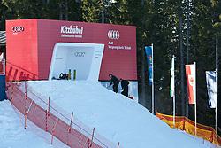 18.01.2011, Hahnenkamm, Kitzbuehel, AUT, FIS World Cup Ski Alpin, Men, Vorbericht, im Bild Starthaus der Streif. EXPA Pictures © 2011, PhotoCredit: EXPA/ J. Groder
