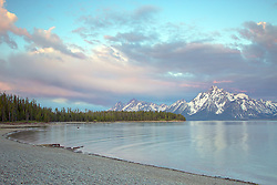 """Jackson Lake Sunrise, Grand Teton National Park<br /> <br /> For production prints or stock photos click the Purchase Print/License Photo Button in upper Right; for Fine Art """"Custom Prints"""" contact Daryl - 208-709-3250 or dh@greater-yellowstone.com"""