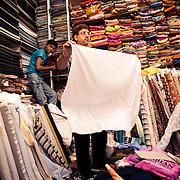 a fabric store at INA market New Delhi