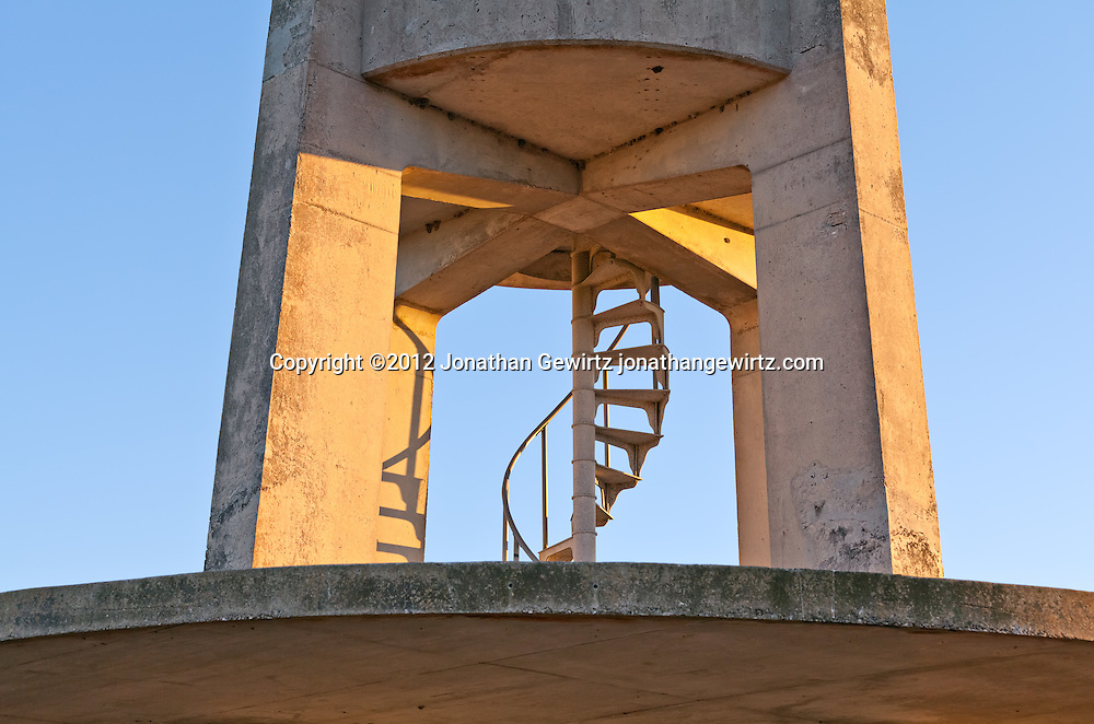 The concrete observation tower in the Shark Valley section of Everglades National Park WATERMARKS WILL NOT APPEAR ON PRINTS OR LICENSED IMAGES.