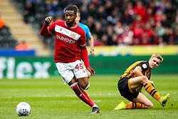 Kasey Palmer of Bristol City goes past Daniel Batty of Hull City - Mandatory by-line: Robbie Stephenson/JMP - 05/05/2019 - FOOTBALL - KCOM Stadium - Hull, England - Hull City v Bristol City - Sky Bet Championship