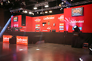 The main stage during the Ladbrokes UK Open at Stadium:MK, Milton Keynes, England. UK on 5 March 2021.