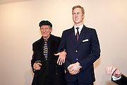 TCHAIK CHASSAY; PRINCE WILLIAM WAXWORK, 'Engagement' exhibition of work by Jennifer Rubell. Stephen Friedman Gallery. London. 7 February 2011. -DO NOT ARCHIVE-© Copyright Photograph by Dafydd Jones. 248 Clapham Rd. London SW9 0PZ. Tel 0207 820 0771. www.dafjones.com.