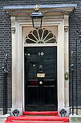 Number 10 Downing Street, the home of the British Prime Minister, London, United Kingdom