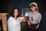 ELIZABETH FAIRTHORNE; VICTORIA PERRY, Pimlico Road party. 22 June 2010. -DO NOT ARCHIVE-© Copyright Photograph by Dafydd Jones. 248 Clapham Rd. London SW9 0PZ. Tel 0207 820 0771. www.dafjones.com.