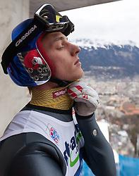 04.01.2014, Bergisel Schanze, Innsbruck, AUT, FIS Ski Sprung Weltcup, 62. Vierschanzentournee, Probesprung, im Bild Gregor Schlierenzauer (AUT) // Gregor Schlierenzauer (AUT) during Trial Jump of 62nd Four Hills Tournament of FIS Ski Jumping World Cup at the Bergisel Schanze, Innsbruck, Austria on 2014/01/04. EXPA Pictures © 2014, PhotoCredit: EXPA/ JFK