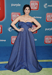 HOLLYWOOD, CA - NOVEMBER 05: Melissa Joan Hart and family attend the Premiere Of Disney's 'Ralph Breaks The Internet' at the El Capitan Theatre on November 5, 2018 in Los Angeles, California. 05 Nov 2018 Pictured: Sarah Silverman. Photo credit: TM/ROT/Capital Pictures / MEGA TheMegaAgency.com +1 888 505 6342