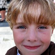 NLD/Hilversum/20070817 - Straten rond het Mediapark Hilversum vernoemd, Jasper, kleinkind Mies Bouwman