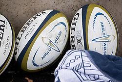 Anglo Welsh Cup match balls - Rogan Thomson/JMP - 05/02/2017 - RUGBY UNION - Ashton Gate Stadium - Bristol, England - Bristol Rugby v Exeter Chiefs - Anglo Welsh Cup.