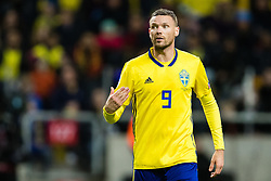 March 23, 2019 - Stockholm, SWEDEN - 190323 Marcus Berg of Sweden during the UEFA Euro Qualifier football match between Sweden and Romania on March 23, 2019 in Stockholm. (Credit Image: © Andreas L Eriksson/Bildbyran via ZUMA Press)