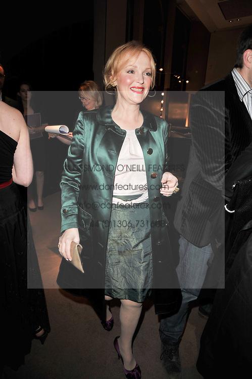 MIRANDA RICHARDSON at the BAFTA Nominees party 2011 held at Asprey, 167 New Bond Street, London on 12th February 2011.
