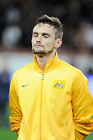 Australia's James Holland before the International football Friendly Game 2013/2014 between France and Australia on October 11, 2013 in Paris, France. Photo Jean Marie Hervio / Regamedia/ DPPI