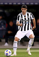 BOLOGNA, ITALY - MAY 23: Alvaro Morata of Juventus FC in action ,during the Serie A match between Bologna FC and Juventus FC at Stadio Renato Dall'Ara on May 23, 2021 in Bologna, Italy.(Photo by MB Media/Getty Images)