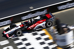 September 15, 2018 - Sonoma, California, United Stated - GRAHAM RAHAL (15) of the United States takes to the track to practice for the Indycar Grand Prix of Sonoma at Sonoma Raceway in Sonoma, California. (Credit Image: © Justin R. Noe Asp Inc/ASP via ZUMA Wire)